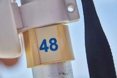 Traghetto numerato con il numero 48 fotografia stock