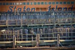 Traghetto NYC di Staten Island Fotografia Stock Libera da Diritti