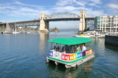 Traghetto o Aqua Bus di False Creek fotografia stock libera da diritti