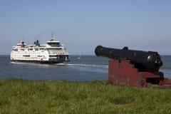 Traghetto olandese Immagine Stock