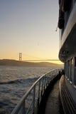 Traghetto su Bosphorus immagine stock