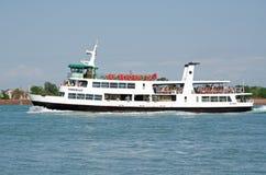 Traghetto Torcello della laguna di Venezia Fotografia Stock Libera da Diritti