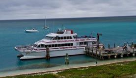 Traghetto a Tortugas asciutto Immagini Stock Libere da Diritti