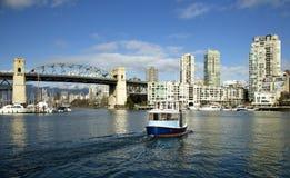 Traghetto a Vancouver Immagine Stock