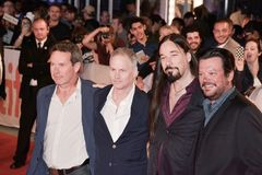 The Tragically Hip attend premiere of their documentary `Long Time Running` at toronto international film festival. `Long Time Running` premiere at the 2017 Royalty Free Stock Images