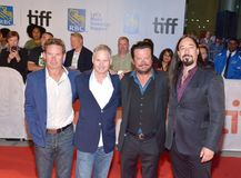 Tragically Hip premiere at TIFF17 of their documentary Royalty Free Stock Images
