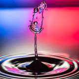 Trago del agua Imagenes de archivo