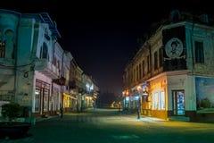 Tragoviste historical center, Romania Royalty Free Stock Images
