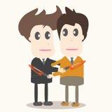 Trahison, illustration d'homme d'affaires. Photo libre de droits