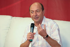 Traian Basescu Stock Photography
