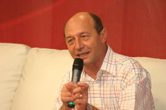 Traian Basescu Royalty Free Stock Images