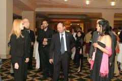 Traian Basescu Photo libre de droits