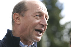 Traian Basescu Royalty Free Stock Photo
