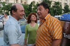 Traian Basescu i Bodo Obraz Royalty Free