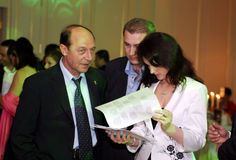 Traian Basescu Royalty Free Stock Image