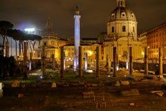Traiano Ρώμη Foro Στοκ Φωτογραφία