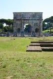 Traiano Arc Stock Image