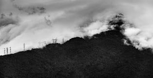 Traiga eléctrico al cielo Imagen de archivo libre de regalías