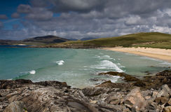 Traigh Lar Horgabost Harris, Hebrides, Scotland Stock Photos