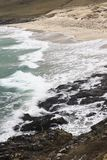 Traigh Taoibh Thuath plaża na wyspie Harris w Szkocja obrazy stock
