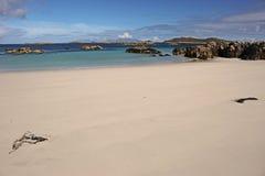 Traigh Tuath, Insel von Coll Lizenzfreie Stockfotografie