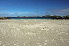 Traigh Tuath, Insel von Coll Lizenzfreie Stockbilder