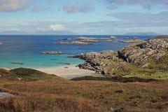 Traigh Tuath, Insel von Coll Stockfotografie
