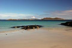 Traigh Tuath, isola di Coll Fotografie Stock