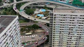 Traiifc in Hong Kong stock video footage