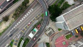 Traiifc a Hong Kong video d archivio