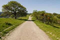 Trail. Walking trail, Lake Del Valle Regional Park, Livermore, California Royalty Free Stock Image