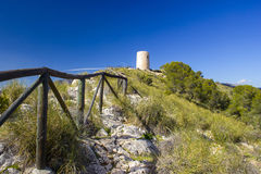Trail in Andalusia, Spain Stock Photography