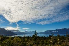 Trail around Lago Todos Los Santos, Chile Royalty Free Stock Image