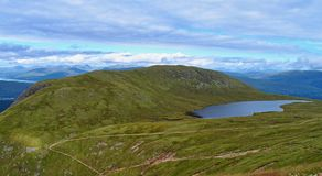 Trail  on Ben Nevis Royalty Free Stock Photography