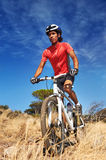 Trail bike riding Royalty Free Stock Photography