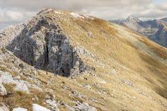 Trail from Ciemniak to Malolaczniak - Czerwone Wie Stock Photos