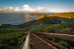 Trail down to Point Bonita Royalty Free Stock Image