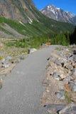 trail för cavelledith fotvandra montering fotografering för bildbyråer