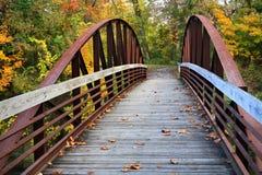 trail för kanalerie towpath Arkivfoto