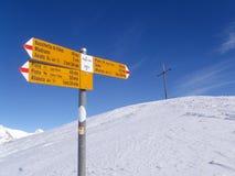 Trail of Foisch trekking Stock Photos