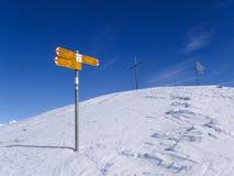 Trail of Foisch trekking Royalty Free Stock Photos