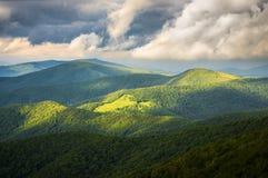 trail för tillstånd för appalachian bergpark roan Arkivfoton