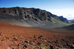 Trail at Haleakala National Park Stock Image