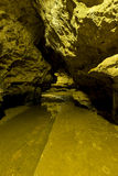 Trail Inside Cave Royalty Free Stock Photo
