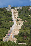 Trail in Karkonosze Mountains Stock Photo