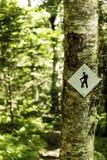 Trail Marker Royalty Free Stock Photo