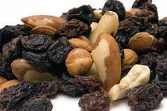 Trail Mix (Close Front View) royalty free stock photo