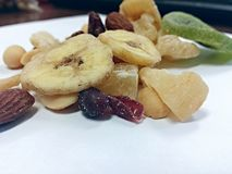 Trail mix Royalty Free Stock Photography