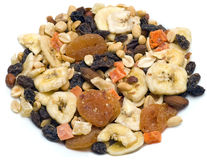 Trail Mix Dried Fruit Royalty Free Stock Images
