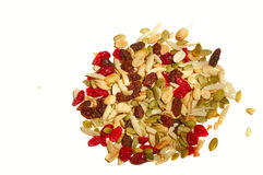 Trail mix portion Stock Photos